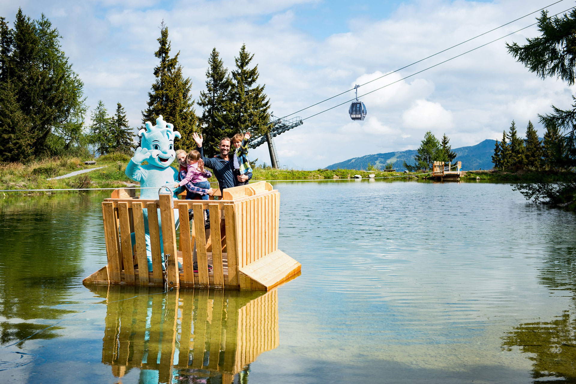 Gams Lodge Goldegg - Familienurlaub