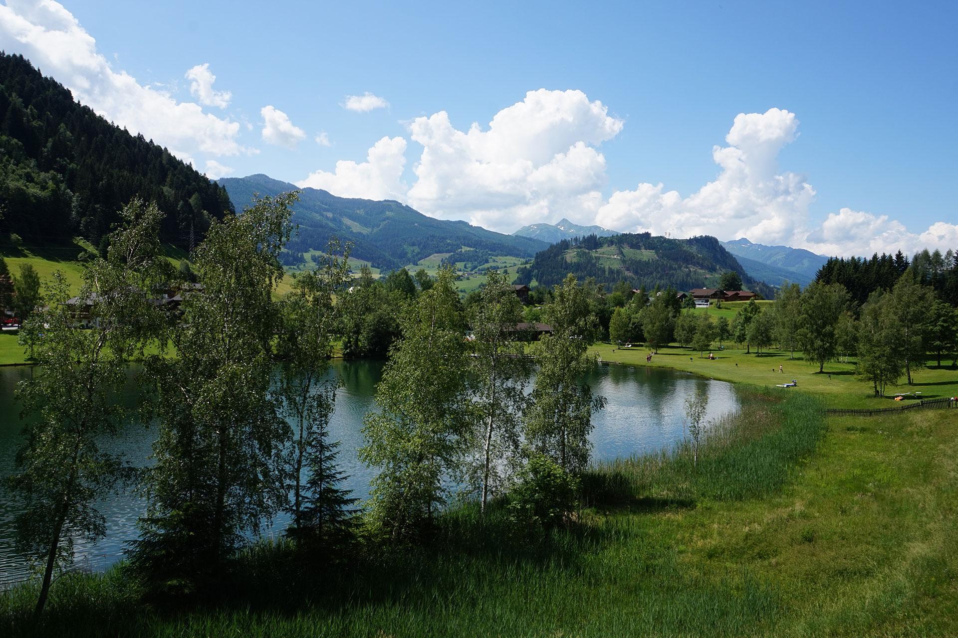 Gams Lodge Goldegg - Wasser und Pferdekutschen