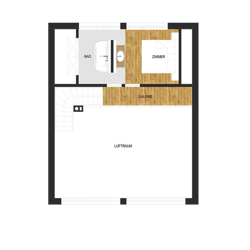 Gamslodge Goldegg - Dachgeschoss